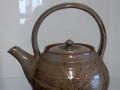 Jack Bodilly teapot with handle above