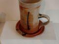 Mirka Golden-Hann cup and saucer