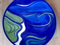 PP001JH Rare Poole Pottery plate